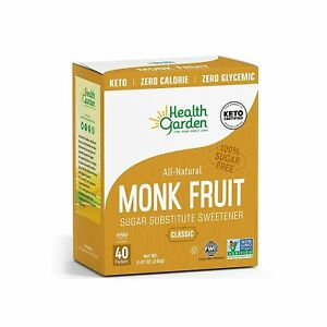 Health Garden Monk Fruit Sweetener Packets 40ct.