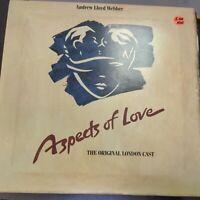 Record Album Aspects of Love Broadway Double Album W/Complete Libretto LP VG