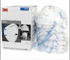 10 Pack x 3M 8822 FFP2D Valved Cup-Shaped Respirator