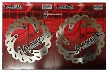 ARTRAX FRONT & REAR BRAKE DISC SET FOR KTM SXF250 SXF350 SXF450 2011 - 2012
