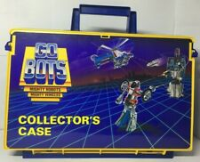 Tonka Bandai Gobots Collectors Case With Accessory Sticker Sheet