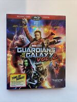 Guardians of the Galaxy Vol. 2 w/ Slipcover (Bluray/DVD, 2017) [BUY 2 GET 1]