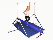 Horizontal Bar 5' - Blue Gymnastics Mat - Blue Balance Beam combo