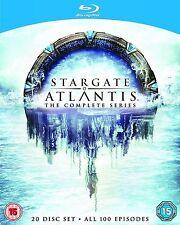 STARGATE ATLANTIS SERIES 1-5 COMPLETE BLU RAY BOX SET SEASONS *NEW*