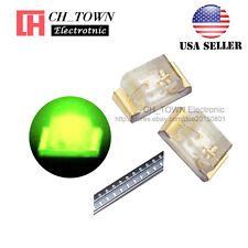 100PCS 0402 (1005) SMD SMT LED Green Light Emitting Diodes Ultra Bright USA
