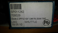 Lot of 150 pieces of New Zener-Diode ZPY12 12V 1,3W  (c4)
