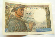 10  FRANCS MINEUR  G7/4/1949
