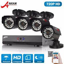 Anran 720P 1800TVL AHD security Outdoor CCTV Camera system HDMI Video DVR IP66