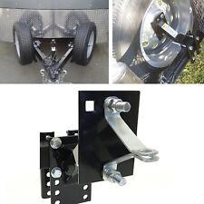 Spare Tire Carrier Boat Mount Utility Trailer Wheel Cargo Holder Powder Locking