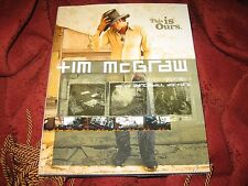 Tim McGraw and the Dancehall Doctors : This Is Ours Tim McGraw (hd) 1ST P SIGNED