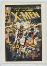 1990 Comic Images Uncanny Covers Series 1 #35 The X-Men #126 Non-Sports Card 0c4