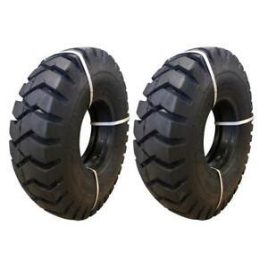 2 Reifen 6.00-9 10PR BKT PL 801, für Gabelstapler SET (+ Schlauch und Wulstband)