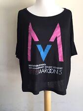 "MAROON 5 (2013) ""COLLECTORS ITEM"" Brentwood Benefit Concert Boutique T-Shirt S/M"