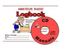 Printable Ham Radio Logbook Template KJ4IYE (Print Your Own with PDF Files) PDF