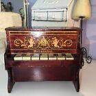 Gorgeous Victorian Toy Piano Antique Dollhouse Furniture Schoenhut Cissette Size