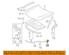 TOYOTA OEM Hood-Release Handle Lever 53611AA010B5