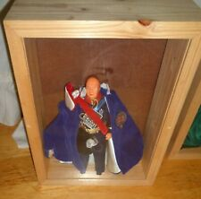 Xrare-Excellent 1960'S Nisbet Winston Churchill In A Wood Display Box