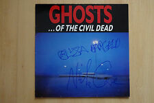 "Ghosts... of the Civil Dead ""N.Cave"" Autogramme signed LP-Cover Soundtrack Vinyl"