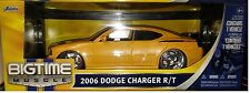 2006 Dodge Charger Daytona Die-cast Car 1:18 Jada Toys 10 inches Yellow