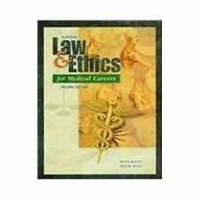 USED (GD) Glencoe Law and Ethics for Medical Careers by Karen Judson