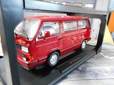 VW Volkswagen Bus t3 Multivan Red Star Red Rouge 1993 NOREV NEUF NEW 1:18