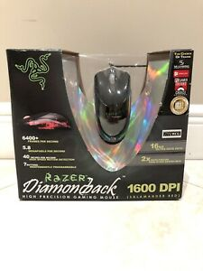 RARE Mouse Razer Diamondback Salamander Red 2004 SEALED FOR COLLECTORS