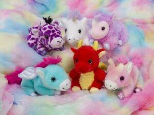 "PETOOTIES PETS 4"" 10cm Mini Plush Fantasy Series 3 Assortment to choose NEW"