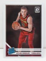Dylan Windler RC 2019-20 Donruss Optic Base Rated Rookie Card 197 Cleveland Cavs