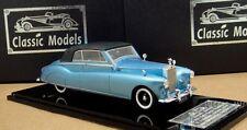 1/43 Rolls Royce Phantom IV Mulliner Cabriolet  1951 Chassis 4AF6,Blue (Close)