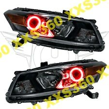 ORACLE Halo HEADLIGHTS for Honda Accord Coupe 08-12 RED LED Angel Demon Eyes