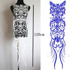 Embroidery Costume Craft Lace Applique Floral Bridal Evening Dress Lace Motif