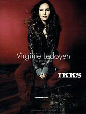 Publicité Advertising 079  2011  Virginie Ledoyen pour IKKS  par Jan Welters