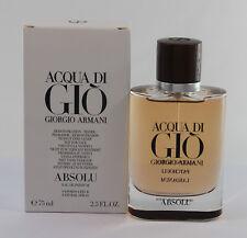 Acqua Di Gio Absolu by Giorgio Armani Tster Edp Spray 2.5 oz/75 ml  Men NITB