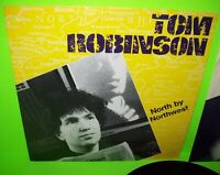 Tom Robinson North By Northwest Vinyl LP Record 1982 New Wave Pop Promo Cover