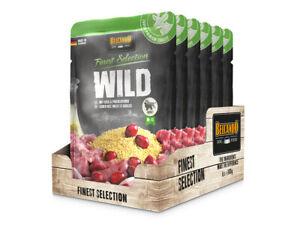 (7,97€/kg)   Belcando Wild mit Hirse & Preiselbeeren 6 x 300 g Frischebeutel Fin
