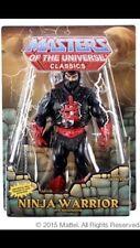 MOTUC Ninjor Ninja Warrior Masters of the Universe Classics 2015 He-Man In Hand