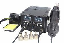 Tekpower TP8582D 70W Soldering Iron and 750W SMD Hot Air Rework Station