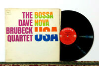 Dave Brubeck Quartet – Bossa Nova U.S.A. LP 1963 - Cool Jazz Legend - NM Vinyl