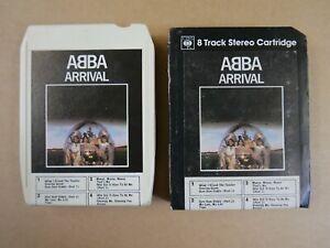 8 track cartridge + case ABBA - ARRIVAL
