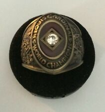 St Louis Cardinals 1946  World Series Replica Ring.  Post Dispatch Ring!