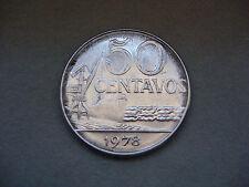 Brazil 50 Centavos, 1978 Coin