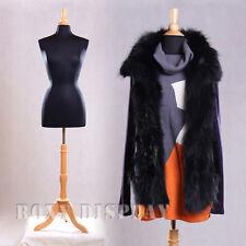 Female Size 6-8 Mannequin Dress Form Hard Form #F6/8Bk+Bs-01Nx
