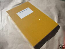 O-CHECK YELLOW WAXED CANVAS JOURNAL NOTEBOOK POCKET RULED