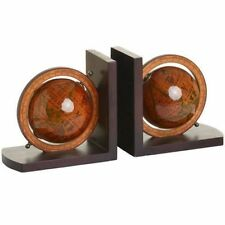Unbranded Wooden Country Decorative Bookends