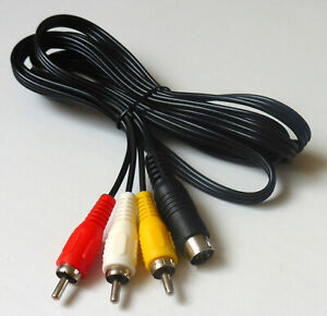 Sega Mega Drive 2 Cable Composite Video 1,8 Meter. Cable For