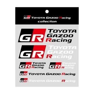 TOYOTA GAZOO Racing GR Genuine Logo Sticker Set A  A302-GR18A009 OEM Parts