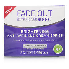 Fade Out Brightening Anti Wrinkle Cream Fades Pigmentation and Anti Age 50ml