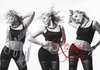 """Regina LUCA - dt.-kirgis. Tänzerin,""""Let`s dance"""", Original-Autogramm!"""