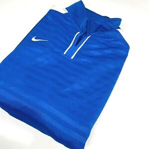 Nike XL Royal Blue Pro Training Top Fitness Gym Running Long Sleeve (1317 E1)