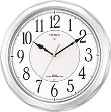 New CITIZEN Radio Waves Wall Clock Ne Murrina Sunny 4MY642-019 from Japan